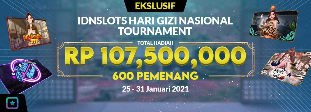 IDNSLOTS HARI GIZI NASIONAL TOURNAMENT